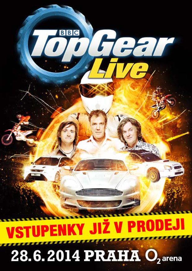 Top Gear live Foto: topgearlive.cz
